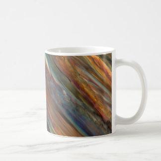 顕微鏡の下のワイン-ピノー(白)ワイン コーヒーマグカップ