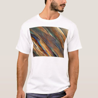 顕微鏡の下のワイン-ピノー(白)ワイン Tシャツ