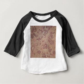 顕微鏡の下の乳癌 ベビーTシャツ