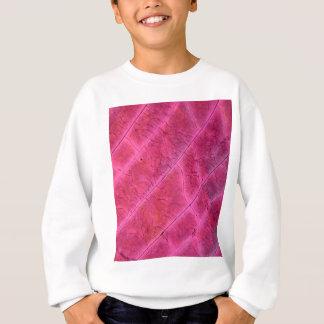 顕微鏡の下の硫黄の水晶 スウェットシャツ