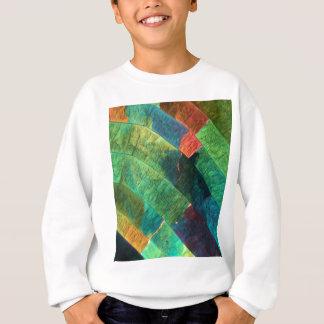 顕微鏡の下の硫黄 スウェットシャツ