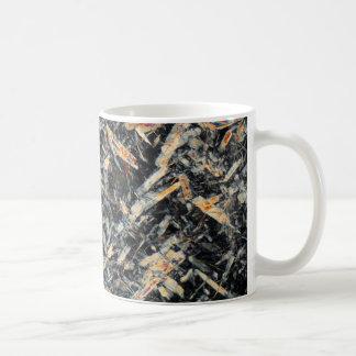 顕微鏡の下の蜂蜜 コーヒーマグカップ
