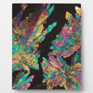 顕微鏡の下のDiclofenacの水晶 フォトプラーク