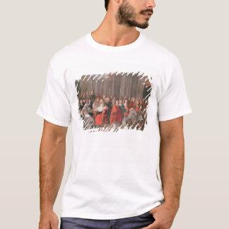 顕著な紳士のグループはアブビルを生まれます Tシャツ