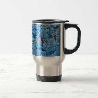 顕著な響きの青とのDacayのモダンなデザイン トラベルマグ