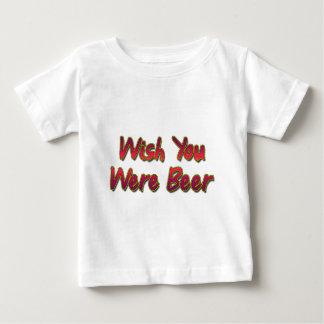 願いあビール ベビーTシャツ