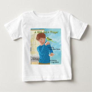 願いおよび祈りの言葉のカバー ベビーTシャツ