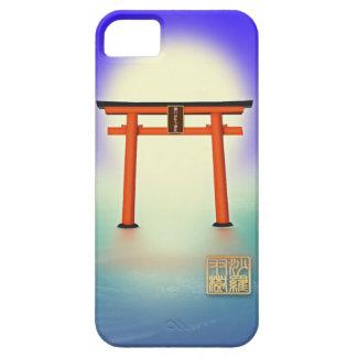 願いが叶う!沙羅双樹の神社 iPhone5ケース iPhone SE/5/5s ケース