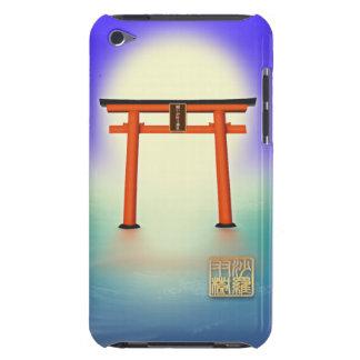 願いが叶う!沙羅双樹の神社Case-Mate iPod Touch Barely There ケース