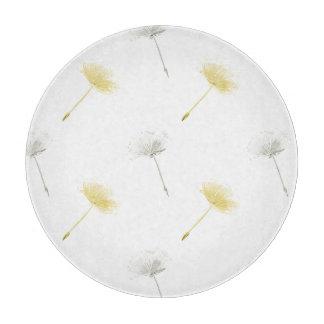 願いのタンポポの花 カッティングボード