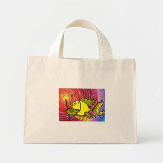 願いの魚-活発でかわいくおもしろいな漫画--を作って下さい ミニトートバッグ