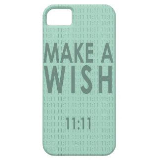 願いの11:11を作って下さい iPhone SE/5/5s ケース