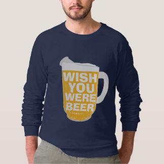 願いビールでした スウェットシャツ