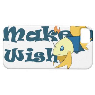 """""""願い""""の魚のiPhone 5/5sカバー白作って下さい iPhone SE/5/5s ケース"""