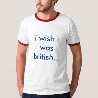 願いIはイギリスでした Tシャツ