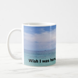 願いIは左利きのマグ-ここにありました コーヒーマグカップ
