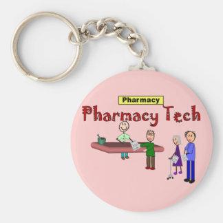 顧客のデザインの薬学の技術 キーホルダー