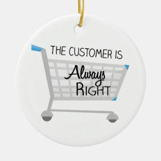 顧客は正しいです常に セラミックオーナメント