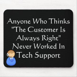 顧客は間違っています常に マウスパッド