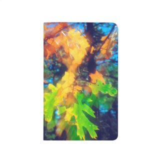 風で吹くカシの葉 ポケットジャーナル