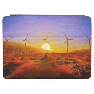 風によって動力を与えられる iPad AIR カバー