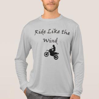 風のような乗車 Tシャツ