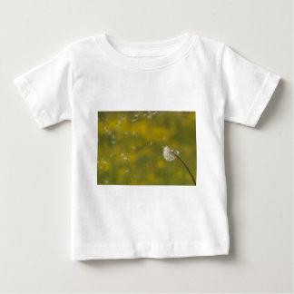 風のタンポポ ベビーTシャツ