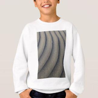 風の彫刻が施された砂丘 スウェットシャツ