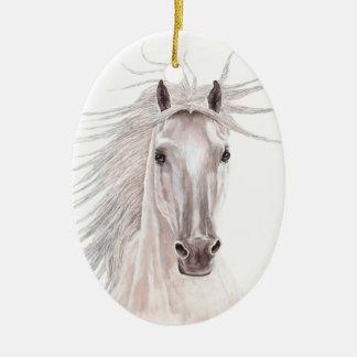 風の馬の精神-型 セラミックオーナメント