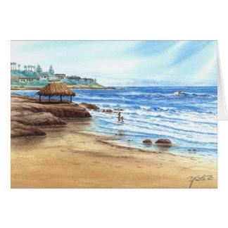 風のNの海、LA JOLLA、カリフォルニア カード