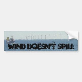 風はこぼれません バンパーステッカー
