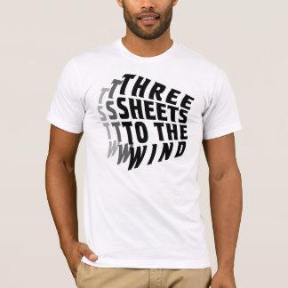 風への3枚のシート Tシャツ