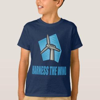 風を利用して下さい Tシャツ