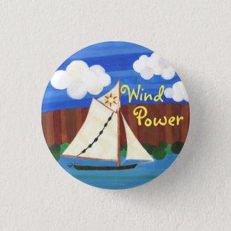 風パワーClearwater 3.2cm 丸型バッジ