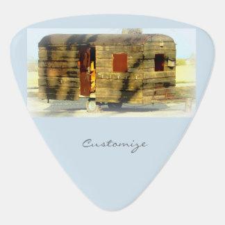 風化させたジプシーのキャラバンThunder_Cove色 ギターピック