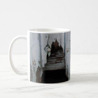 風化させた材木のマグ コーヒーマグカップ