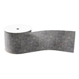風化させた灰色のセメントの歩道 グログランリボン