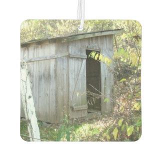 風化させた素朴な小屋 カーエアーフレッシュナー