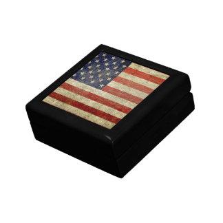 風化させた、動揺してな米国旗 ギフトボックス