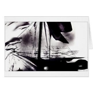 風及び帆 グリーティングカード