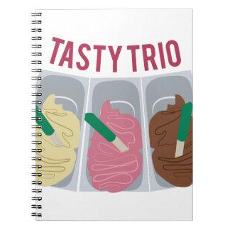 風味がよいトリオ ノートブック