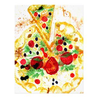 風味がよいピザ レターヘッド