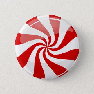 風味がよい円形のペパーミント 5.7CM 丸型バッジ