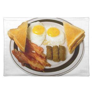 風味がよい朝食のランチョンマット ランチョンマット