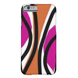 風味がよい波ピンクかオレンジ BARELY THERE iPhone 6 ケース