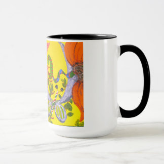 風変りで抽象的なマグ マグカップ