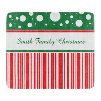 風変りなクリスマス カッティングボード