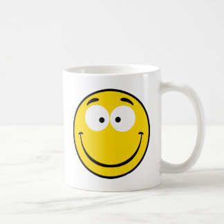 風変りなスマイリー コーヒーマグカップ