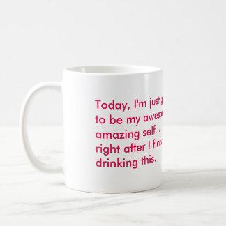 風変りなバレリーナのカスタムな発言マグ コーヒーマグカップ