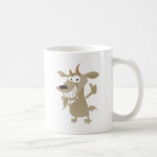 風変りなヤギ コーヒーマグカップ